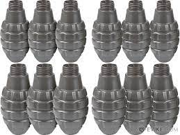 APS Hakkotsu Spare Replacement Shells For Thunder B Sound Grenade